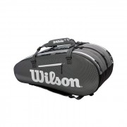 Wilson Super Tour 3 Comp Black/Grey