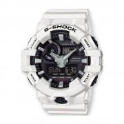 Orologio casio ga-700-7aer gshok bianco