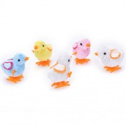 Tradico® 1 Pcs Clockwork Chicken Cute Clockwork Chick Wind up Plush Plastic Chicken@@