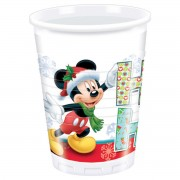 Set 8 pahare Mickey Mouse Xmas