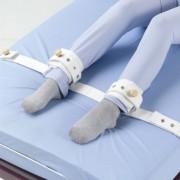 Betegrögzítő pánt lábra mágneszárral (bokafixáló ágyba, AD-67)