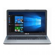 "Лаптоп Asus X541NA-GO206(сребрист), двуядрен Apollo Lake Celeron N3350 1.1/2.4GHz, 15.6"" (39.62 cm) HD LED дисплей(HDMI), 4GB DDR3L RAM, 1TB HDD, 1x USB Type C Gen1, 1x USB 3.0, Endless Linux, 2kg"