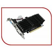 Видеокарта GigaByte GeForce GT 710 954Mhz PCI-E 2.0 1024Mb 1800Mhz 64 bit DVI HDMI HDCP GV-N710SL-1GL