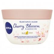 Nivea Ulei de corp non-gras - hidratează pielea în profunzime, lăsând-o moale și catifelată Cherry Blossom & Jojoba Oil 200 ml