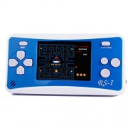 "JJFUN RS-1 Handheld Game Console for Children,Retro Game Player with 2.5"" 8-Bit LCD Portable Video Games,The 80's Arcade Video Gaming System,Built-in 152 Classic Old School Games Entertainment-Blue"