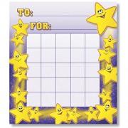 North Star Teacher Resource Smiley Motivational Charts Stars