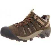 KEEN Men's Voyageur Trail Shoe Black Olive/Inca Gold 8 D(M) US