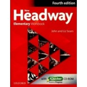 OXFORD New Headway Elementary Workbook Without Key with iChecker CD-ROM (4th) - John and Liz Soars