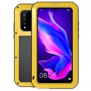 Love Mei Powerful Huawei P30 Lite Hybrid Case - Amarelo