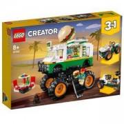 Конструктор Лего Криейтър - Камион чудовище за хамбургери, LEGO Creator 31104
