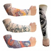 Tattoo Arm Sleeves for Bikers-2-Pcs-(1 Pair)