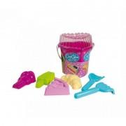 Set jucarii pentru nisip Sweets Androni Giocattoli, 7 piese, Multicolor