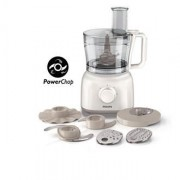 Philips Daily Collection Food processor 650 W 2 speeds + pulse 2.1 L bowl Accessories for + 15 functions Retail Box 1 year warranty