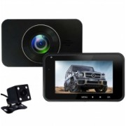 Camera Auto Dubla iUni Dash 270 Full HD Senzor G LCD 2.7 Inch Detectare miscare Night vision