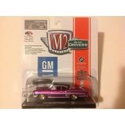 M2 Machines CHASE Auto Drivers 1958 Chevrolet Impala Purple/Black Roof R37