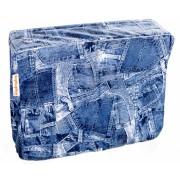 DripDropBag Regenhoes voor Schoudertas jeans 40 x 30 x 20 cm