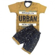 Kids Clothes Boys URBAN Khaki And Blue