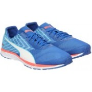 Puma Speed 100 R IGNITE Running Shoes For Men(Blue)