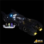 LIGHT MY BRICKS Kit for 76139 LEGO 1989 Batmobile