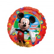 Balon folie metalizata Mickey Clubhouse Happy Birthday 43 cm