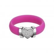 A la mode - Inel (B) de argint Preciosa (Rosa)