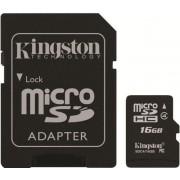Kingston microSDHC 16GB (class 4)