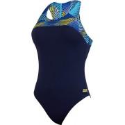 Zoggs Spiro Baddräkt Dam blå M DE 38 2018 Badkläder