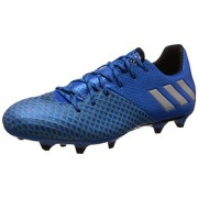 adidas Men's Messi 16.2 Fg Shoblu, Msilve and Cblack Football Boots - 9 UK/India (43.3 EU)