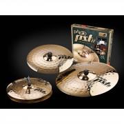 "Paiste PST8 Rock Cymbal Set, 14""HH, 16""CR, 20""R"