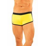 Narciso Square Cut Trunk Swimwear ATLANTIC YELLOW/BLACK