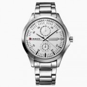 Ceas barbatesc Curren Metalic Silver and White - 8128