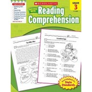 Scholastic Success with Reading Comprehension, Grade 3, Paperback/Robin Wolfe