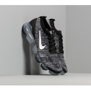 Nike W Air Vapormax Flyknit 3 Black/ White-Metallic Silver