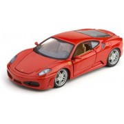 Bburago FERRARI F430, Scale 1:24 Model Car, Red