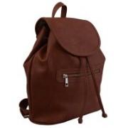 Perido Men & Women Brown PU Shoulder Bag