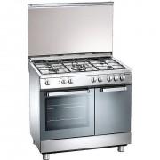 Tecnogas D927xs Cucina 90x60 5 Fuochi A Gas Forno Elettrico Multifunzione 63 Lit