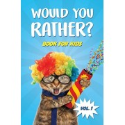 Would You Rather Book for Kids: Car Games and Travel Trivia Activity Book For Kids - The Book Of Silly, Challenging, and Hilarious Questions for Boys, Paperback/Crazy Unicorn