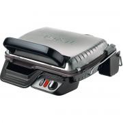 Grătar electric TEFAL Ultracompact 600 Comfort GC306012, 2000 W, Termostat reglabil, Grill, BBQ, Funcție tip cuptor, Inox