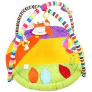 Ole Baby Plushy Giraffee Twist And Fold Musical Activity Play Gym-Newborn PlayMat