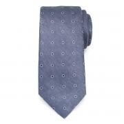 Kék nyakkendő pöttyös mintával 9790