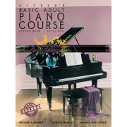 Alfred's Basic Adult Piano Course Lesson Book, Bk 1: Book & CD