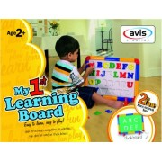 toyztrend my first learning board 2 in 1 for kids to learn preschool and school lessons