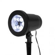 LED projektor, hópehely fényeffekt, 230V