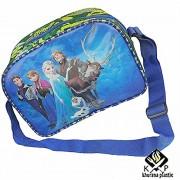 Kp Little Cute KIds Handbag Disney Frozen Elsa And Anna Multipurpose Use Lunch Bag Picnic Bag With Adjustable Handle For Comfort Carry (frozen barbie)