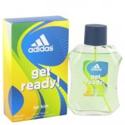 Adidas Get Ready Eau De Toilette Spray 3.4 oz / 100.55 mL Men's Fragrance 516989