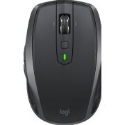 Logitech MX Anywhere 2S - Muis - laser - 7 knoppen - draadloos - 2.4 GHz - USB draadloze ontvanger