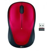 RATON INALAMBRICO LOGITECH M235 USB2.0 ROJO 910-002496