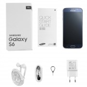 ER Renovado Samsung Galaxy S6 G920 De 5,1 Pulgadas 16MP 32G Smartphone Capacitivo -Negro
