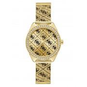 Guess Analoog Horloge 4G Logo Overal - Goud - Size: T/U