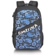 Fastrack A0752NBL01 24 L Laptop Backpack(Blue, Black)